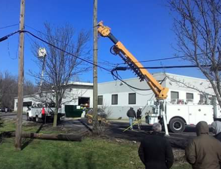 Utility Poles, Install or Replace Privately Owned Utility