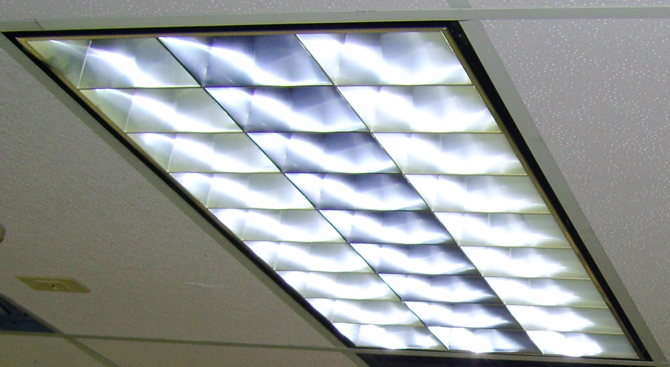 Fluorescent fixtures converted to led commercial lighting experts arubaitofo Choice Image