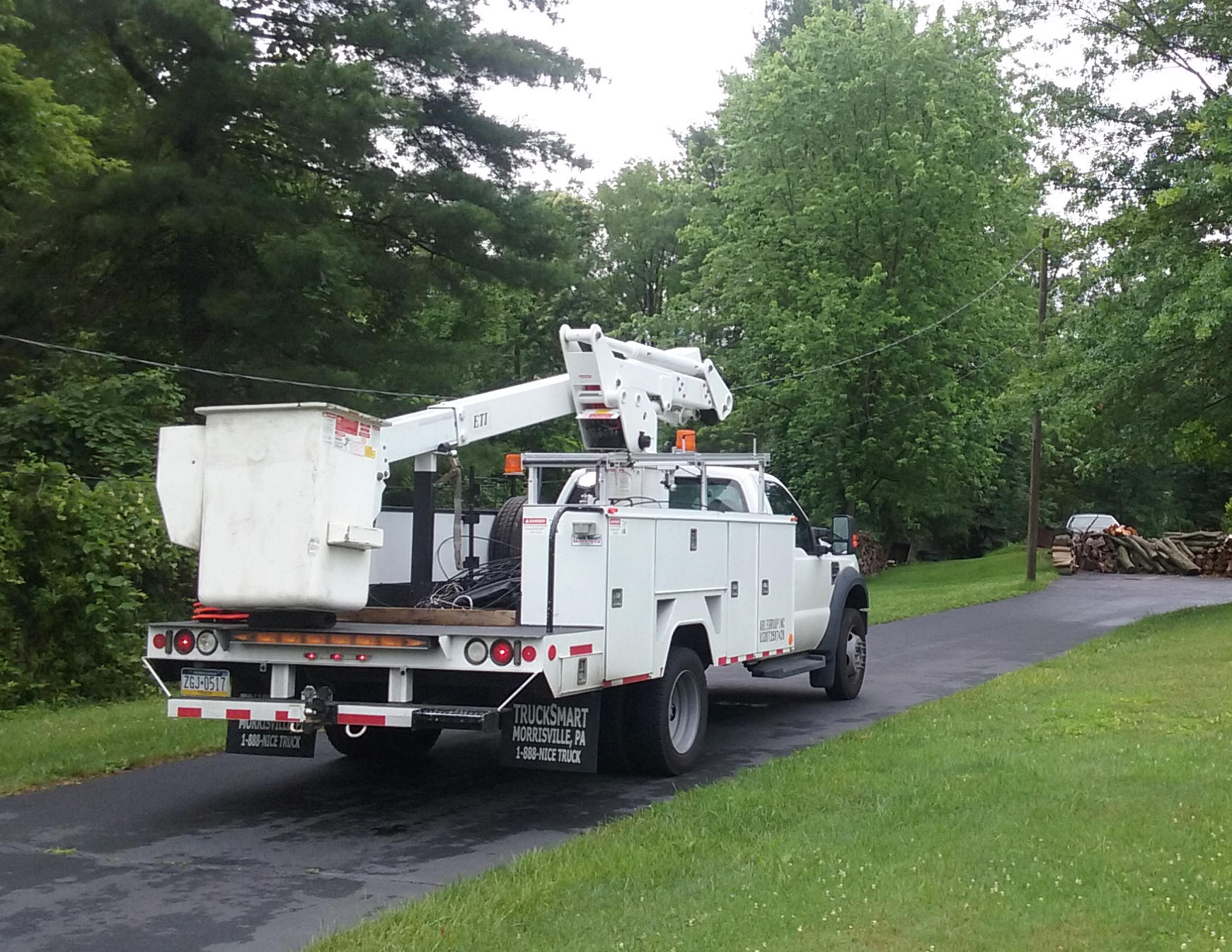 Aerial Electrical Utility Cables and Power Equipment by Able