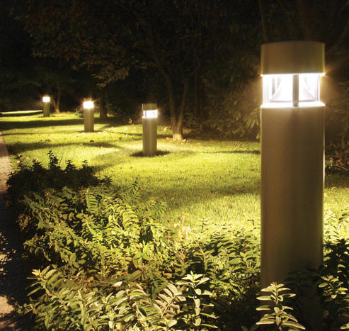 Walkway Lighting Bollards Led Community And Security