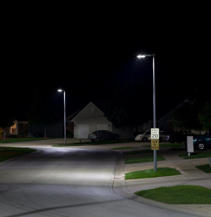 Community Lighting Neighborhood Lighting Street Lights