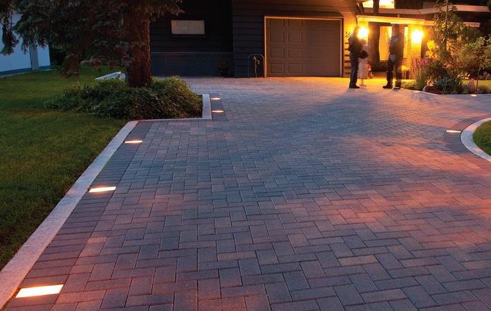 Marvelous The Lighted Driveway